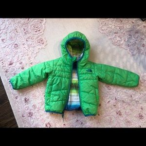 The North Face 2T reversible jacket
